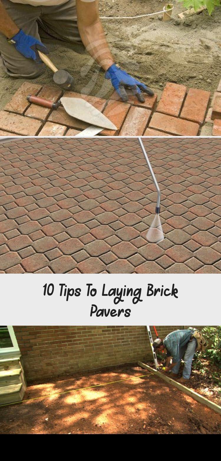 Brick pavers, how to lay brick pavers, backyard brick