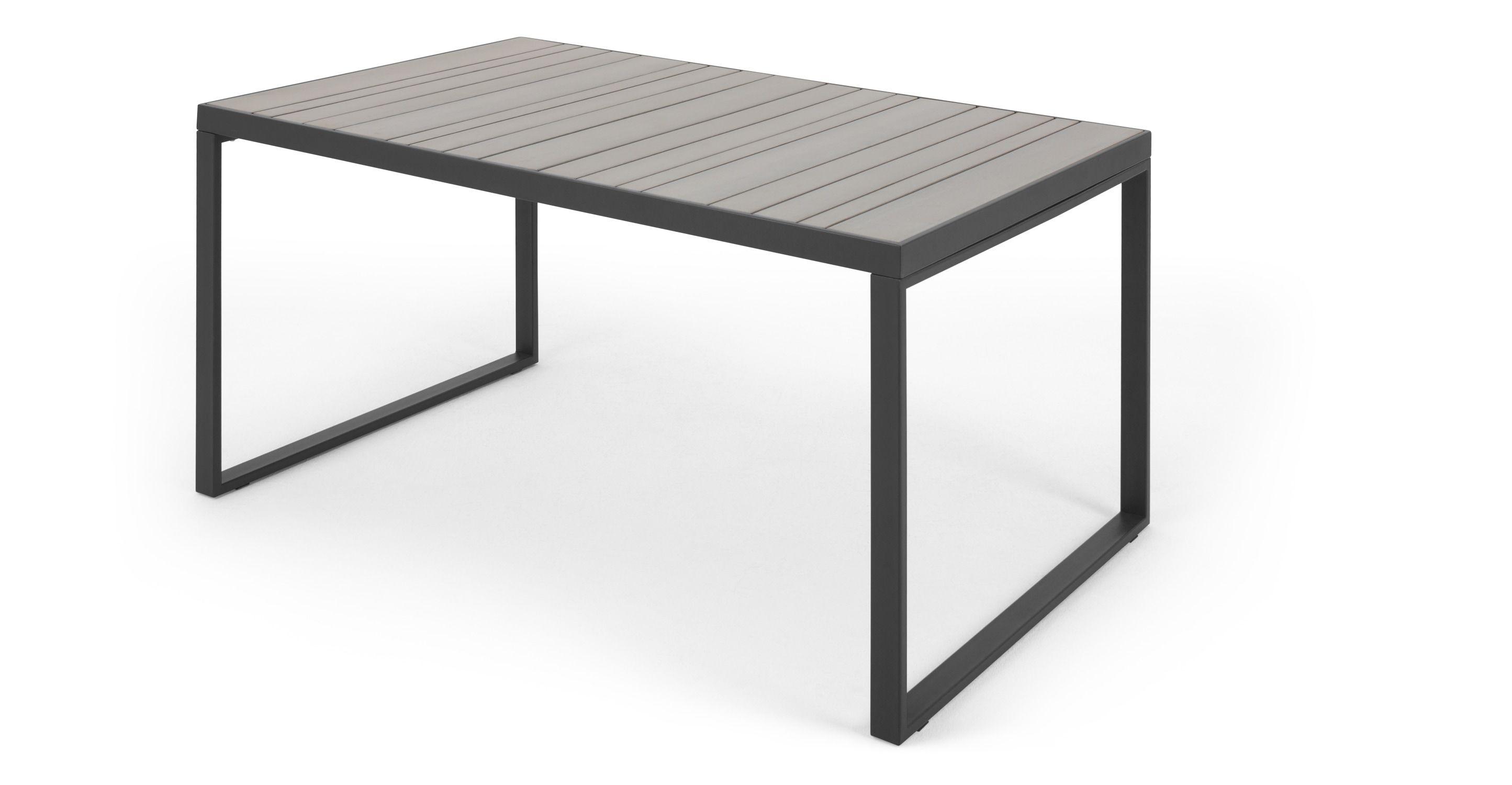 Catania Gartentisch (147 cm), Grau - MADE.com Jetzt bestellen unter ...