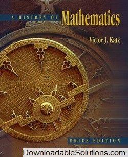solutions manual for history of mathematics brief version victor j rh pinterest com Mathematics Book Chinese Mathematics Problems