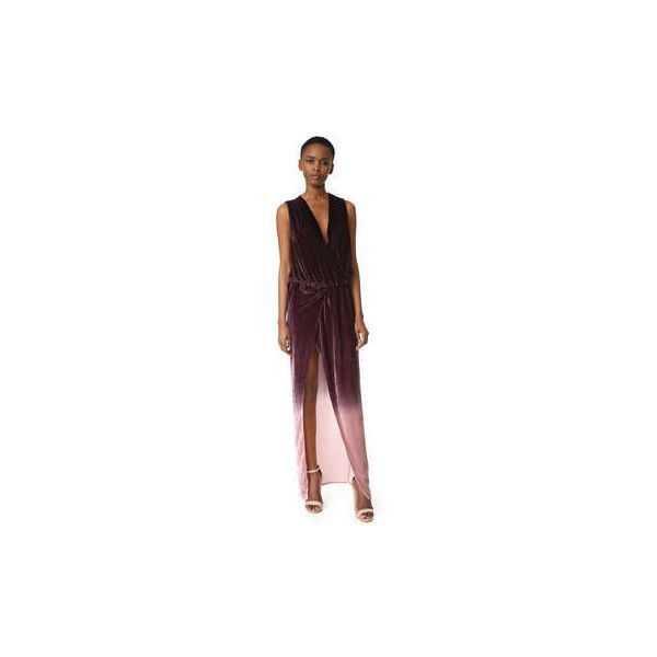 Young Fabulous Broke Juliete Velvet Dress ($255) ❤ liked on Polyvore featuring dresses