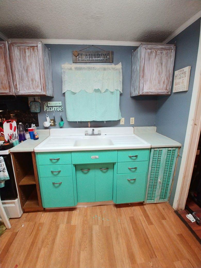 Vintage Sink Cabinet Vintage Sink Sink Cabinet Kitchen Remodel
