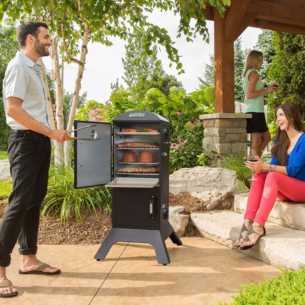 Broil King Vertical Cabinet Charcoal Smoker 359 95 Proudly Introduces