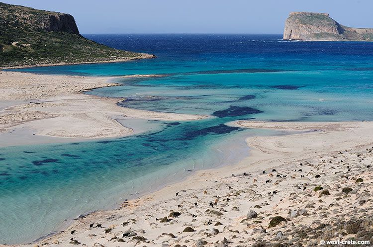 Crete ~ Balos beach near Chania