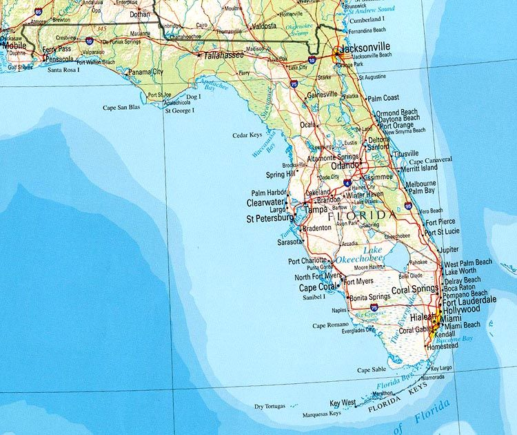 Maps Of Florida Cities.Fly Over The Florida Landscape And Land In Beautiful Clearwater