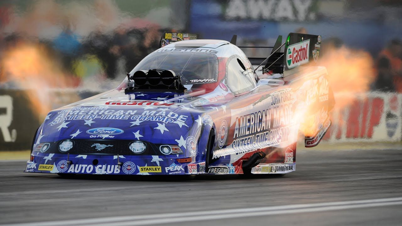 Force takes top spot over Hagan Friday | NHRA Vegas