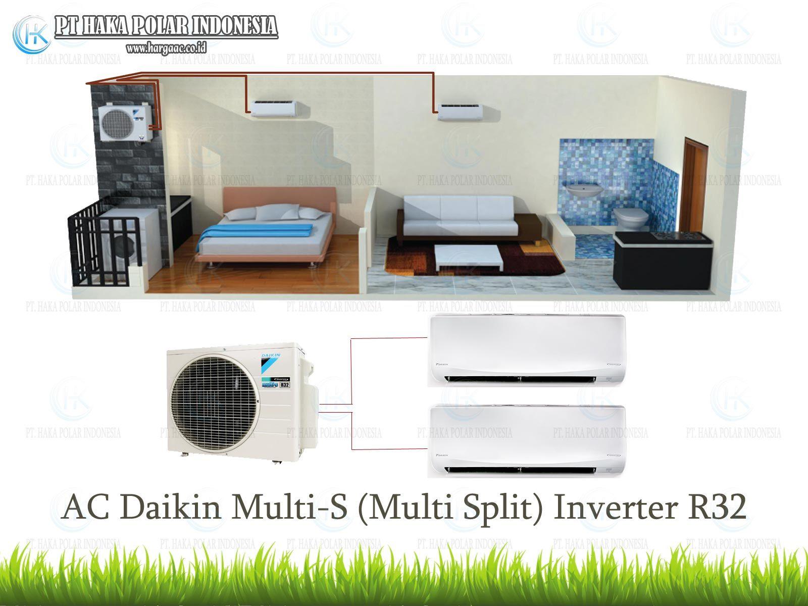 Jual Ac Daikin Multi S Multi Split Inverter Harga Murah Di Tangerang Rumah Apartemen Cocok