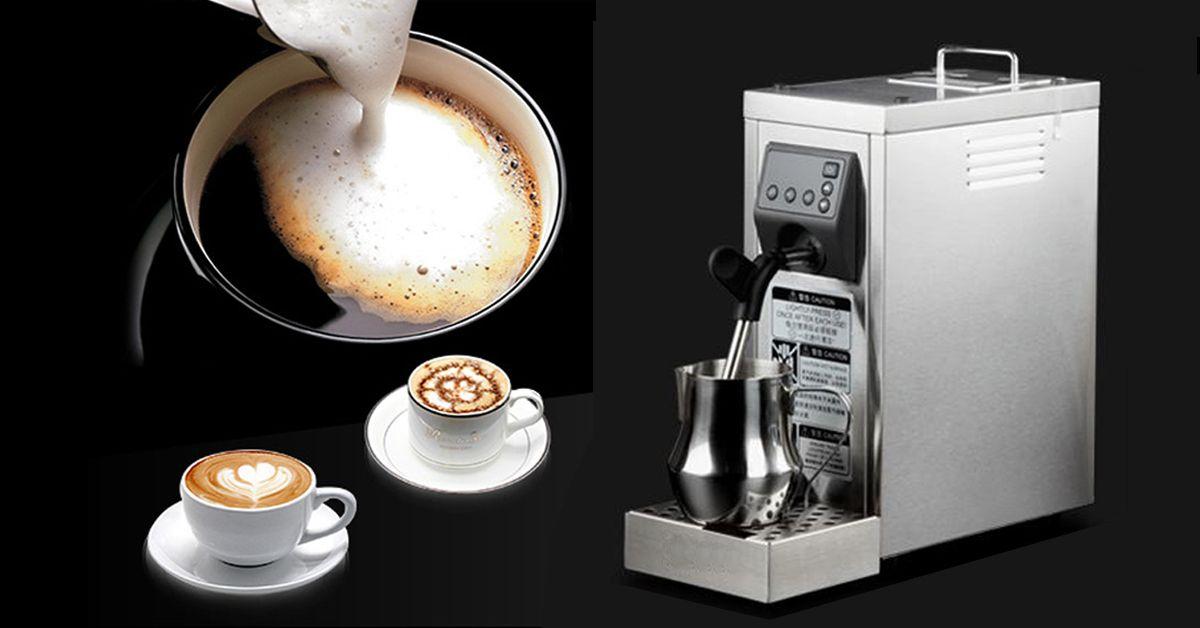 How to steam milk by Yoli machine company on YOLI Coffee