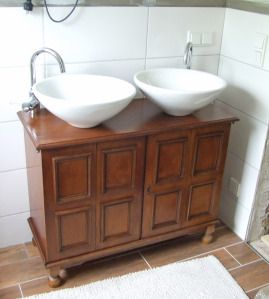 Badezimmermöbel selber bauen  Badmöbel selber bauen | Badezimmer | Pinterest | Badmoebel, Selber ...