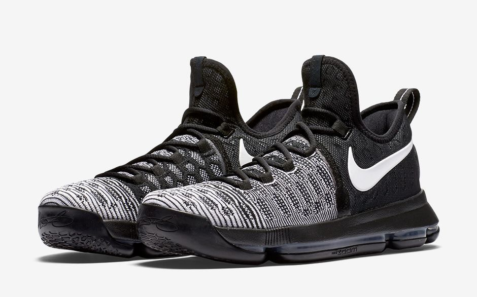 56b41ce8b7a ... shoes black  nike zoom kd 9 black white (official pics release date)