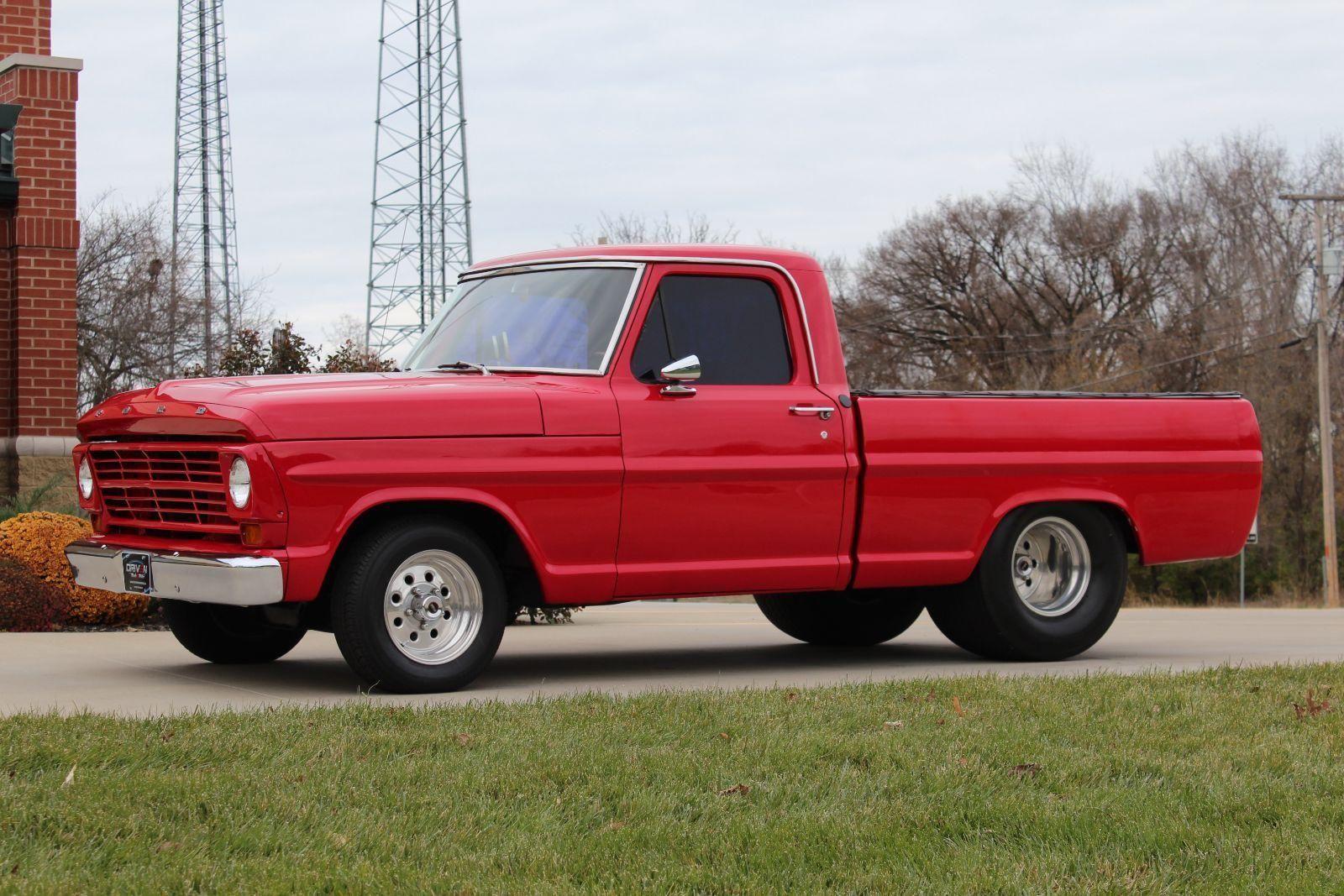 1967 Ford F 100 Custom Pick Up Truck 460 Big Block C6 Classic Pickup Trucks Ford Trucks Ford Pickup
