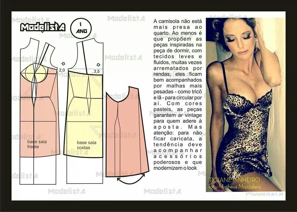 De descanso | Costura, patrones, ropa entre otros | Pinterest | Ropa ...