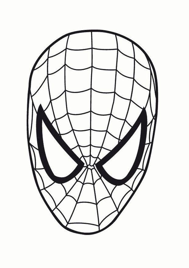 spiderman maske zum ausdrucken  masken zum ausdrucken