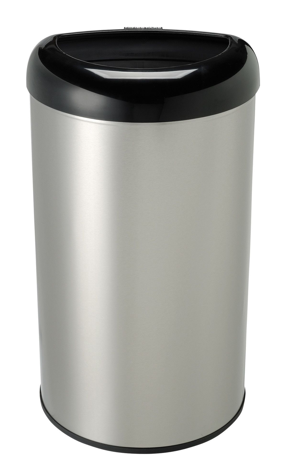 Stainless Steel 13.2 Gallon Open Top Trash Can | Kitchen ...