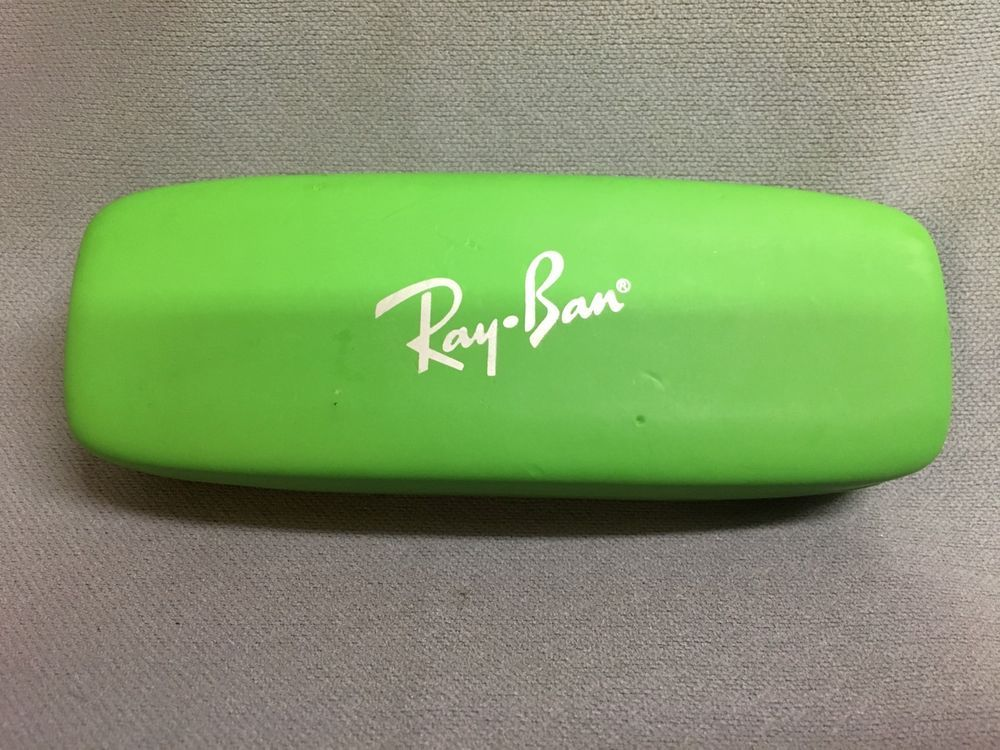 Ray Ban Case- Green With Red Interior  #RayBan