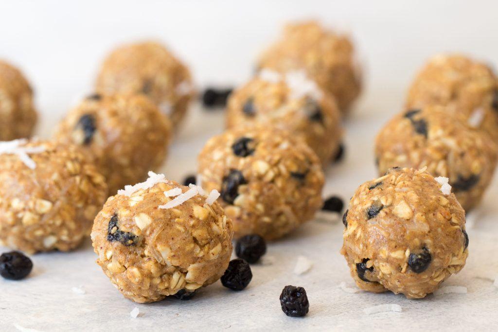 Blueberry almond protein bites recipe protein bites