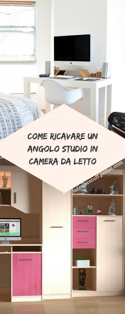 Come ricavare un angolo studio in camera da letto angolo for Studio in camera da letto