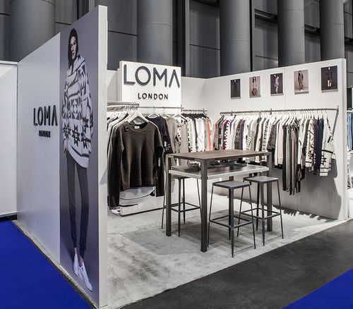 Exhibition Stand Clothes : Loma london bony&clyde in 2019 trade show booth design clothing