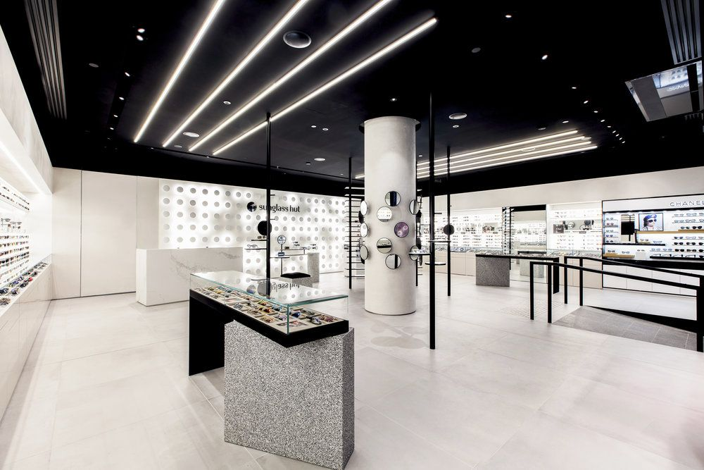 e5caeac364a0 Melbourne-based design consultancy Campaign has designed the interiors of a  new flagship store for Sunglass Hut.