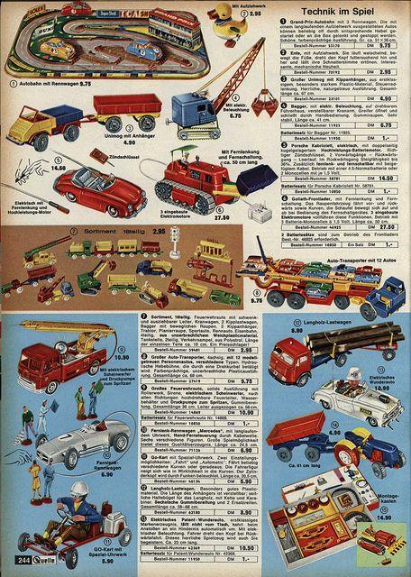 1963 Quelle Spielzeug 244 by diepuppenstubensammlerin, via Flickr