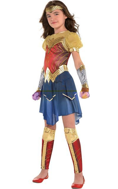 Girls Wonder Woman Costume - Wonder Woman Movie - Party City
