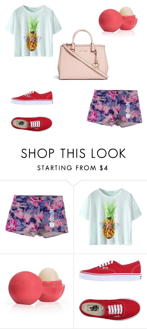 """#look529"" by polly2003-2003 ❤ liked on Polyvore featuring Joe's Jeans, Eos, Vans and Michael Kors"