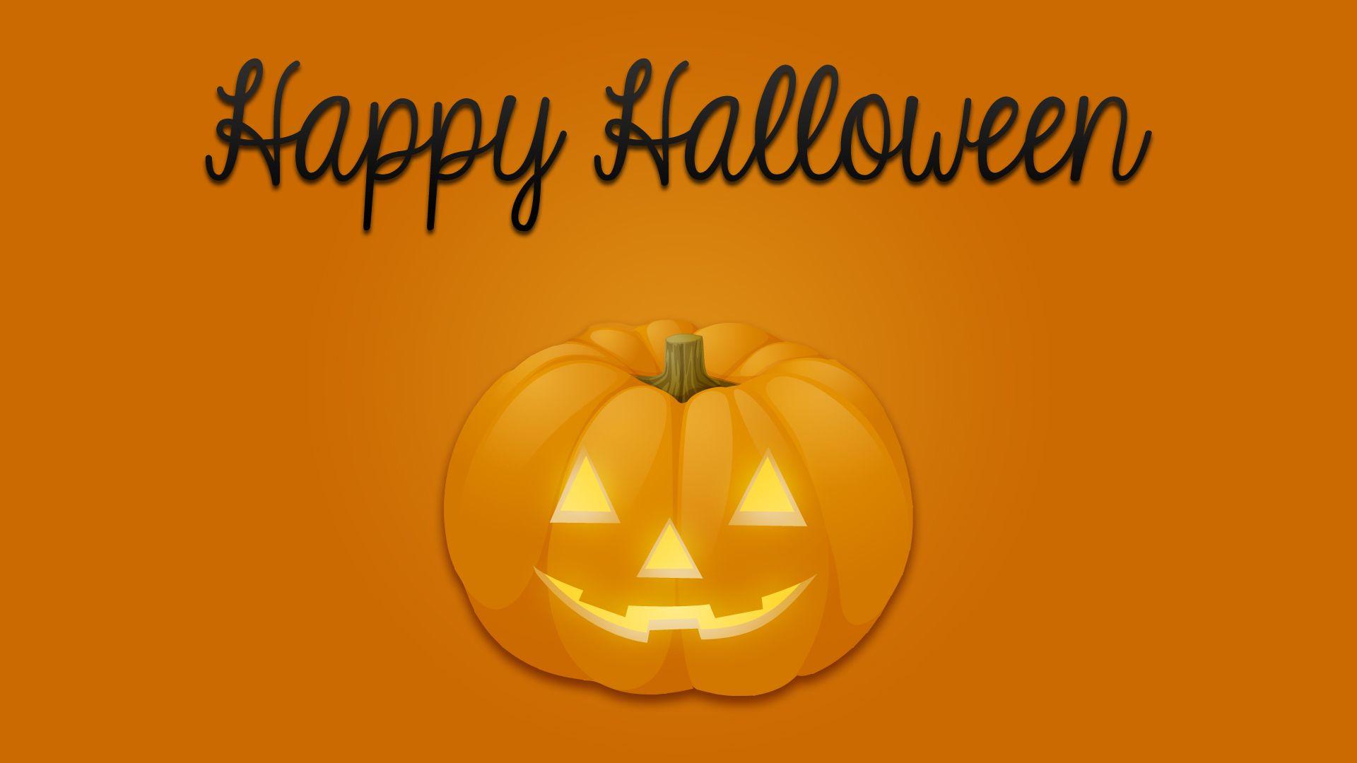 Happy Halloween Pumpkin Wallpaper 1920x1080 By  CupcakeyKitten.deviantart.com On @DeviantArt