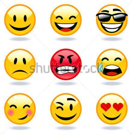 9df624f66ec Feliz, Triste, Enojado, En Caras DE Amor DE imágenes prediseñadas ...