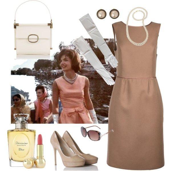 Jacqueline Kennedy style, created by chiaratt