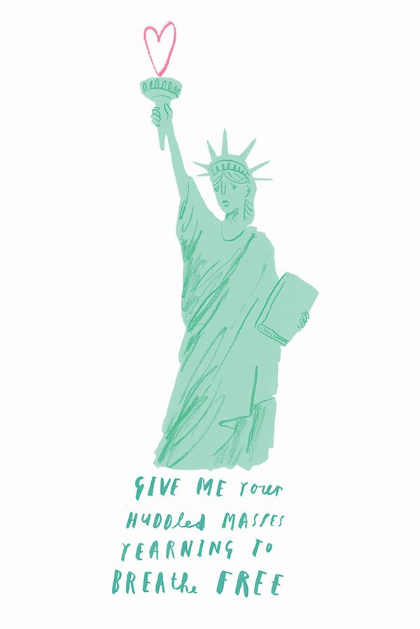 Statue Of Liberty By Oliver Jeffers Love Letter America Liberty Quotes Statue Of Liberty Quote Oliver Jeffers