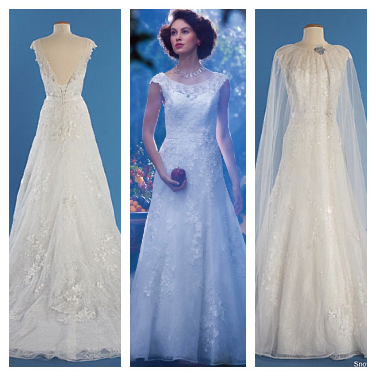 Snow White Wedding Dress by Alfred Angelo...Amazing! | Darling I Do ...