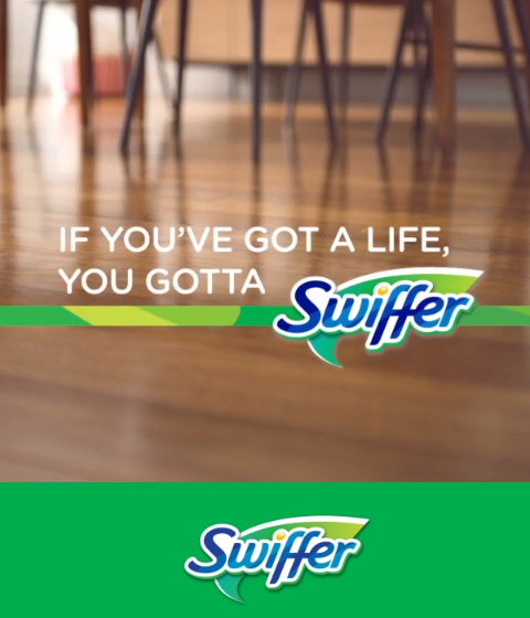 Kids Can Get Themselves Into Hairy Situations But Swiffer Sweeper