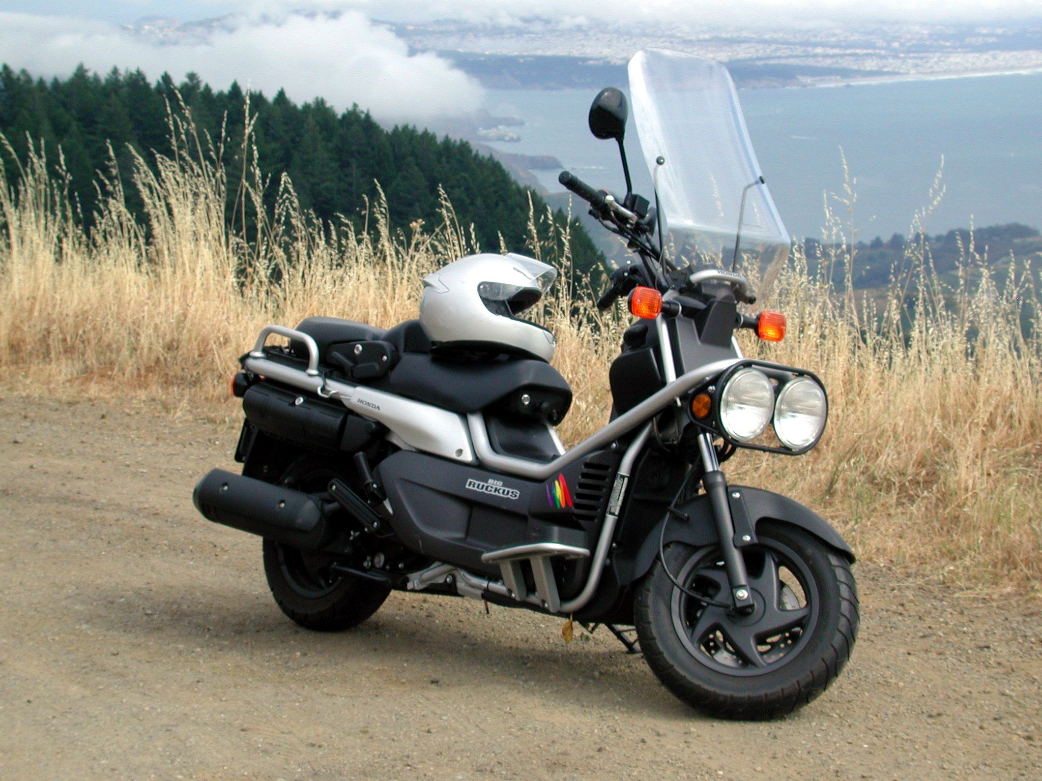 The Honda Big Ruckus Made For Your Adventures