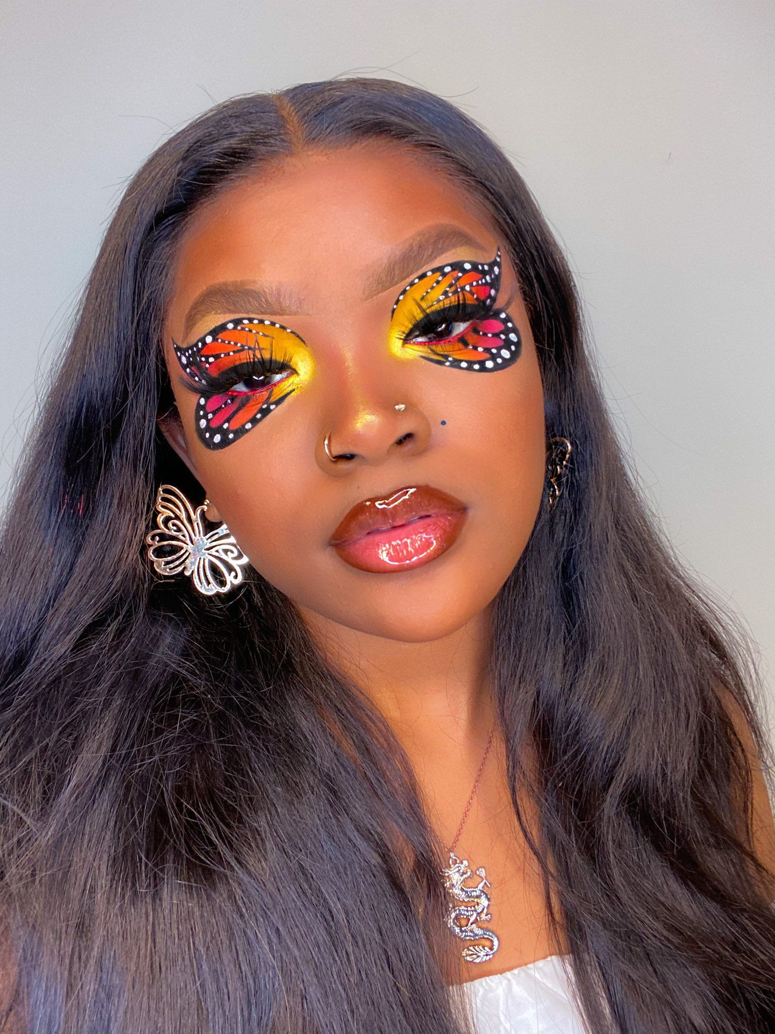 Justice For Breonna Taylor On Twitter Creative Eye Makeup Butterfly Makeup Eye Makeup