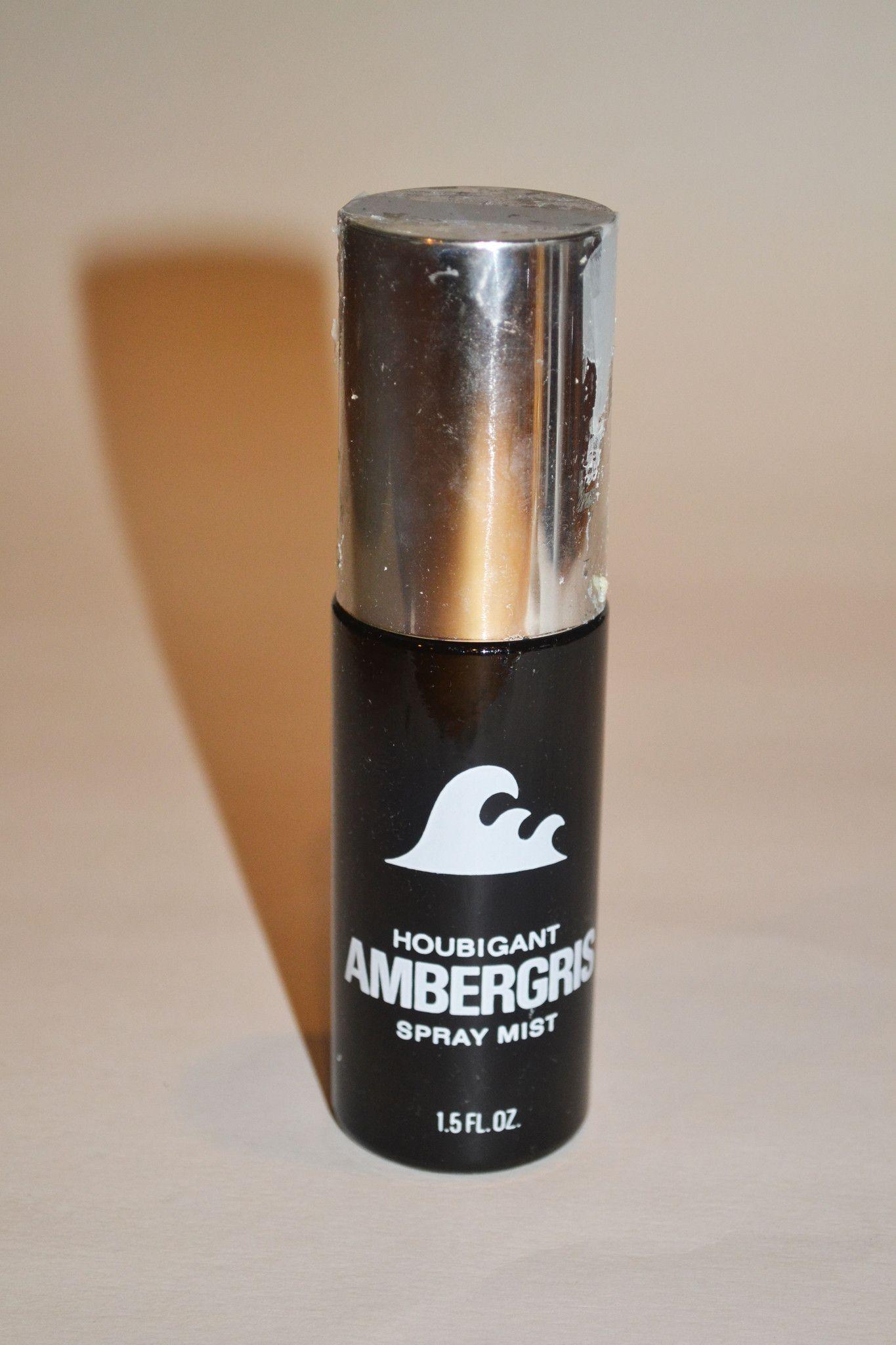 Ambergris Spray Mist Houbigant Alyssa Ashley Vintage Perfume Mists Minyak