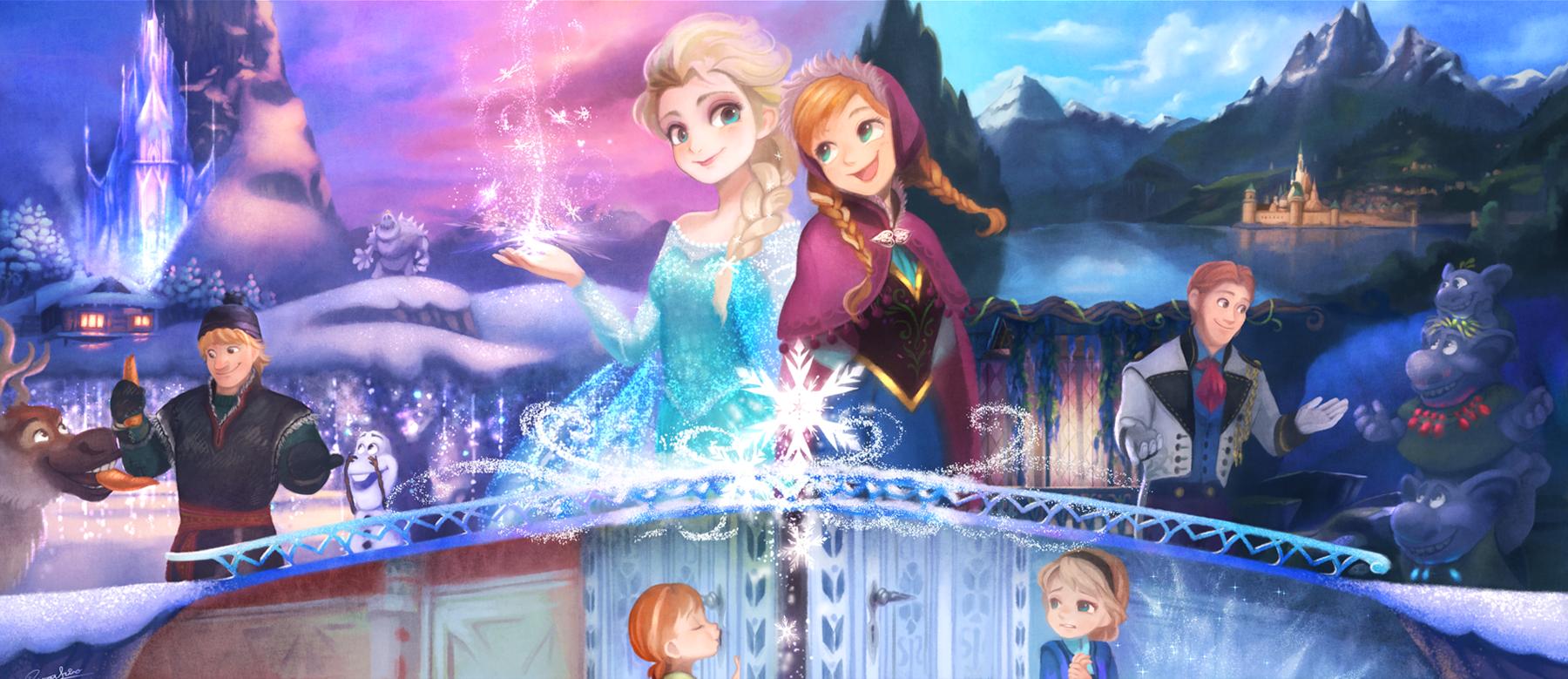 Frozen by 歌城ありなありんこ frozen pinterest elsa