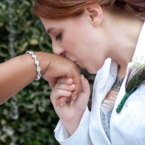 Lesbian kissing grinding