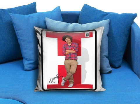 1D One Direction Harry Styles Pillow case #pillow #case #pillowcase #custompillow #custom