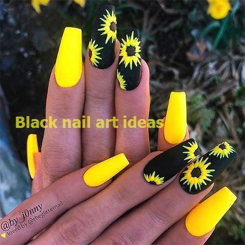 Photo of 20 SIMPLE BLACK NAIL ART DESIGN IDEAS  #blacknaildesign #nailarts