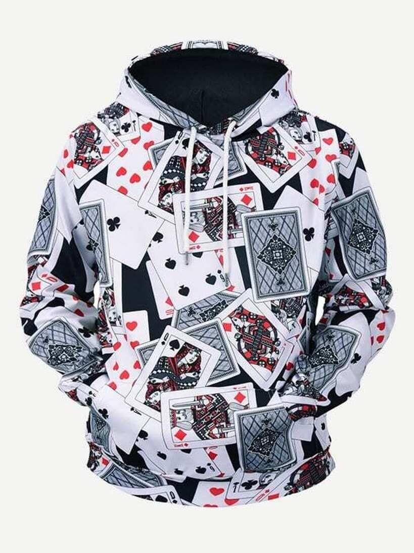MOOCOM Mens Mountain Sweatshirt Pullover