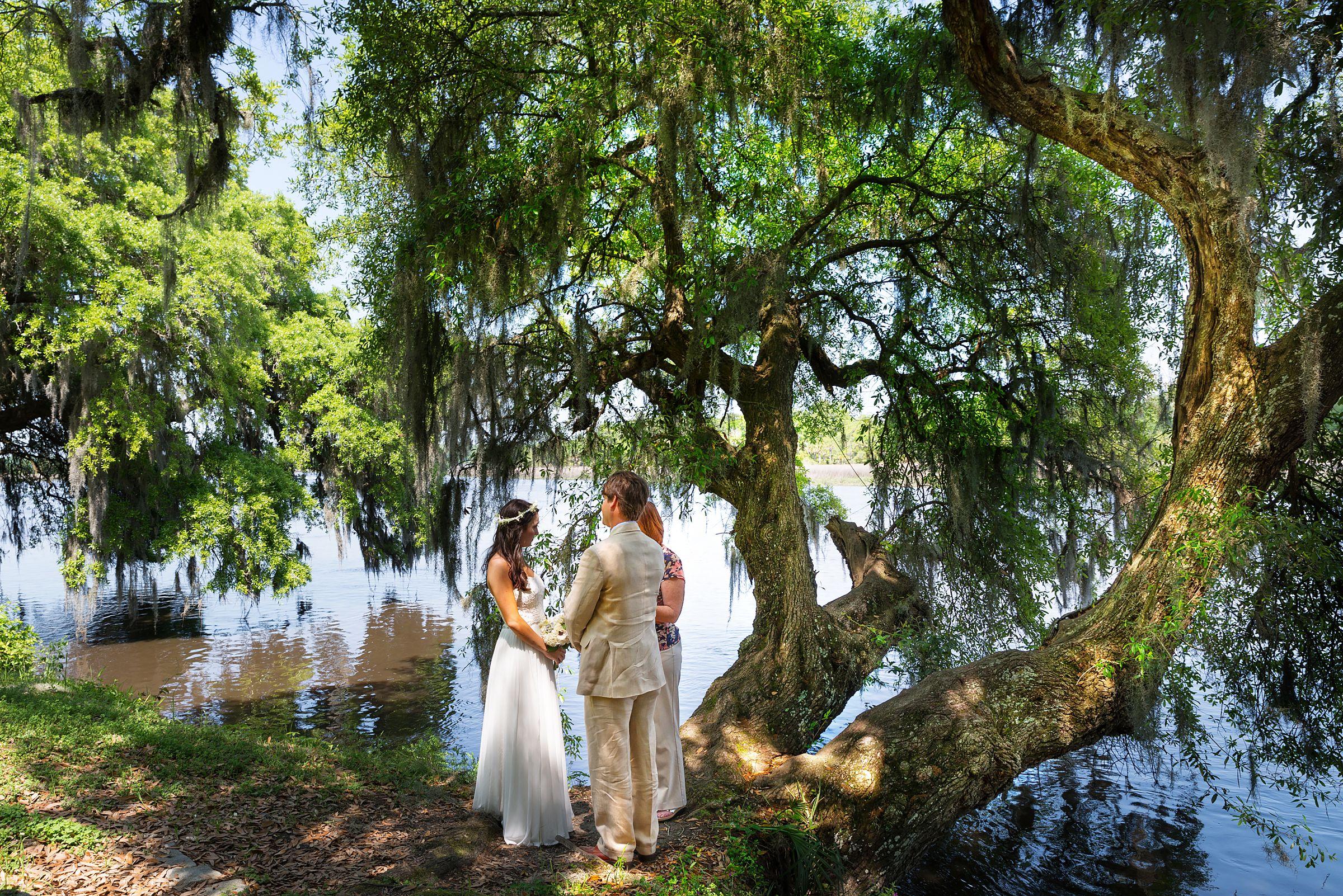 Magnolia Plantation Charleston, SC Wedding Ceremony