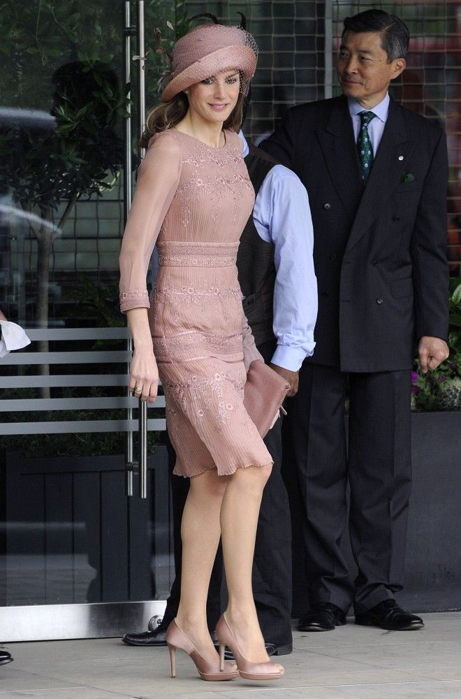 3d0d91947753 Princess Letizia of Spain - The Best and Worst Dressed at the Royal Wedding  - Photos