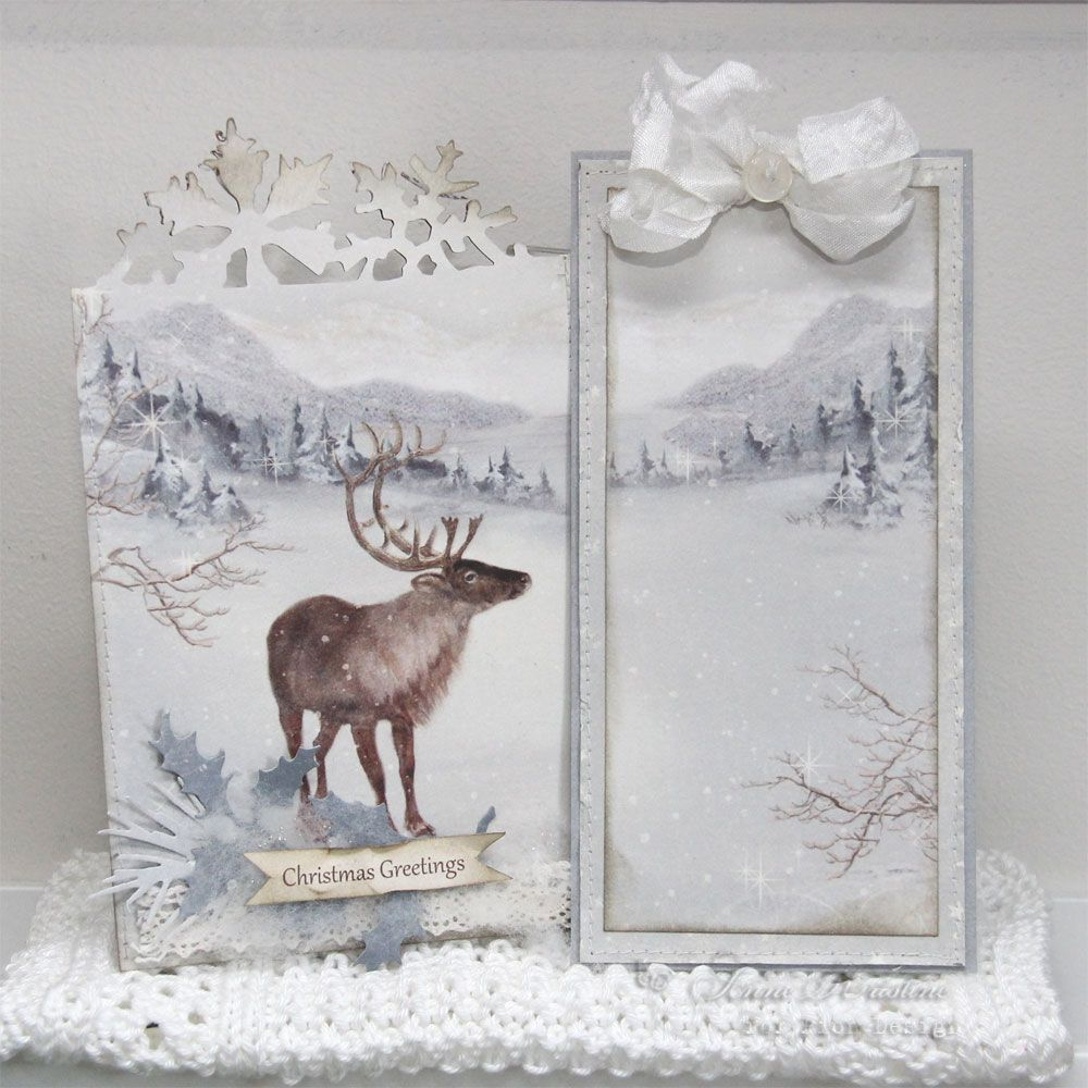 Annes Paper Fun Pion Design Greetings From The North Pole