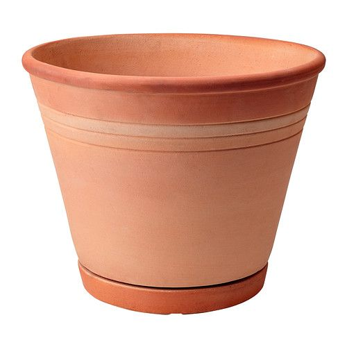 Fotblad Plant Pot With Saucer Ikea Terra Cotta Drainage That Is