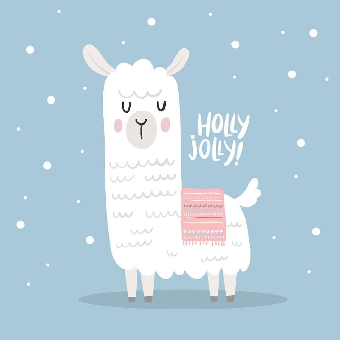 Nadya (dinaizer) sur Instagram Llama Alpaca drawing