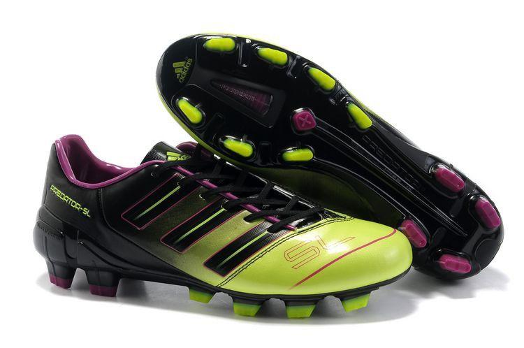 Adidas predator 2012 sl trx fg soccer cleats green black