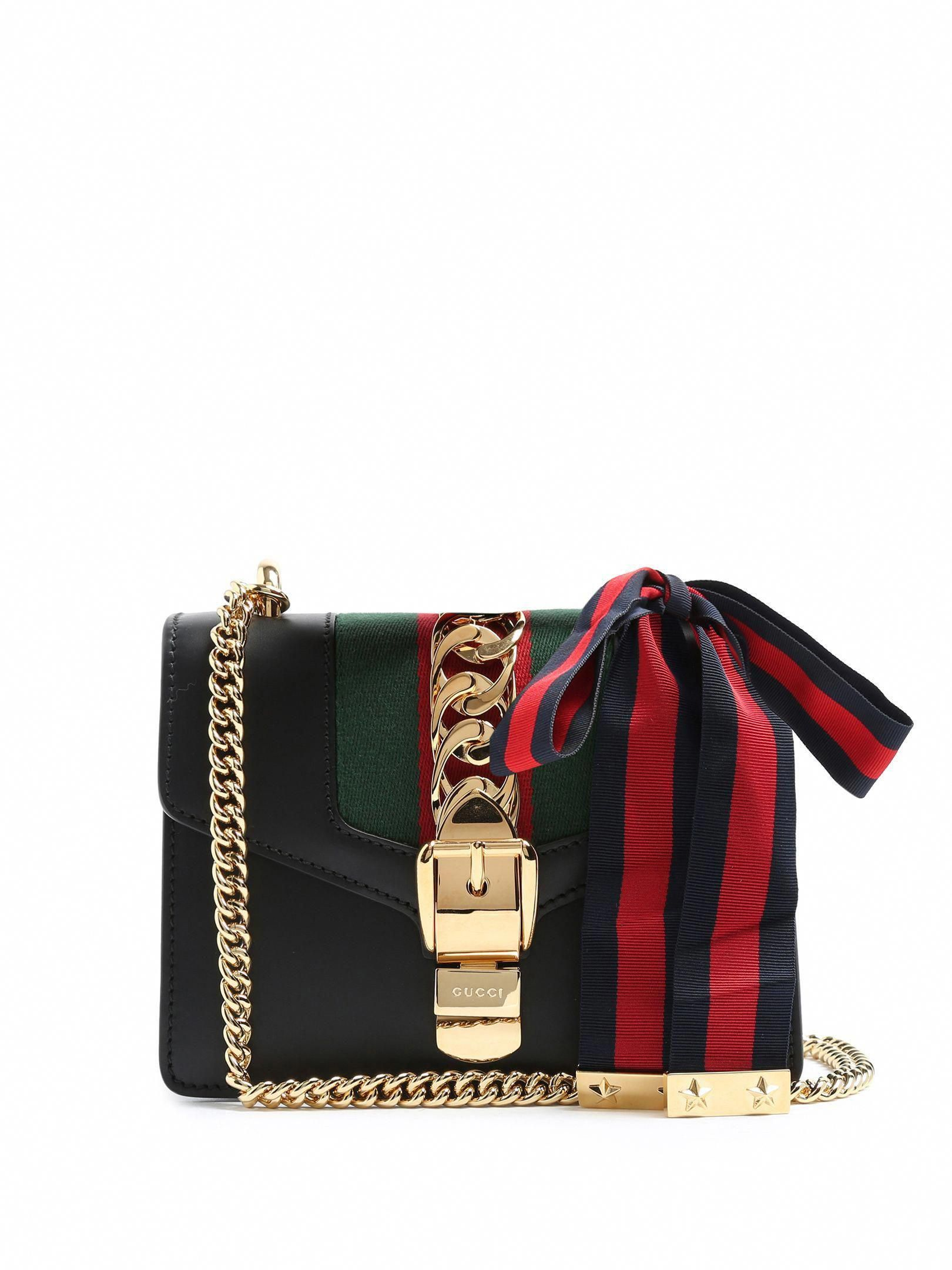 828e0058d023 Sylvie leather cross-body bag | Gucci | MATCHESFASHION.COM US #Guccihandbags