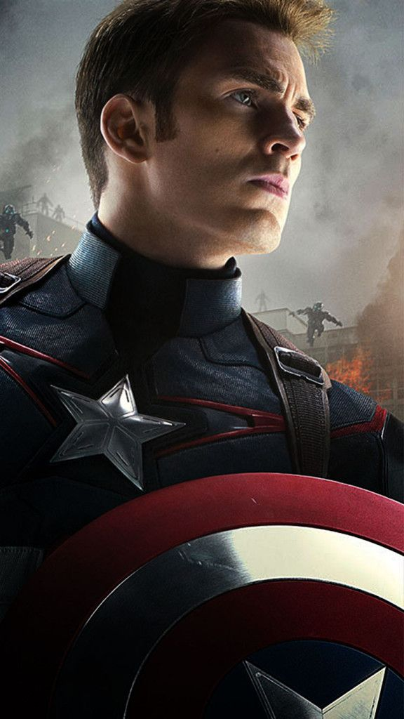 Captain America Art iPhone 5s Wallpaper Download