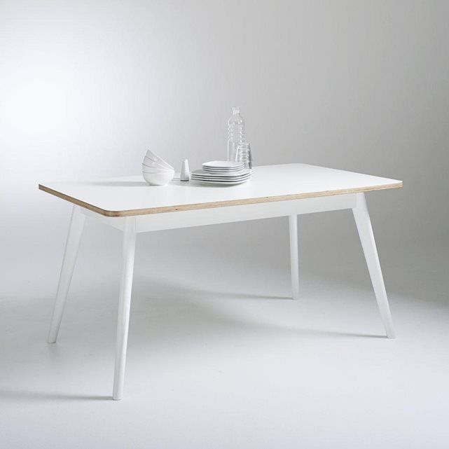 Table de repas 6 couverts, Jimi La Redoute Interieurs  prix, avis - Hauteur Table Salle A Manger