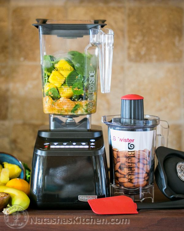 Blendtec Giveaway! We're celebrating our 4-year blogoversary, my b-day and we are thankful for you! | To enter, visit: NatashasKitchen.com #sponsored