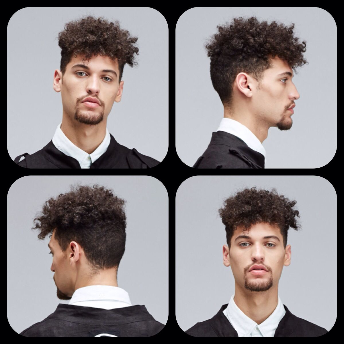 Curly Men Hairstyle